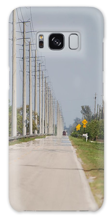 Trees Galaxy S8 Case featuring the photograph East Bound And Down by Rob Hans