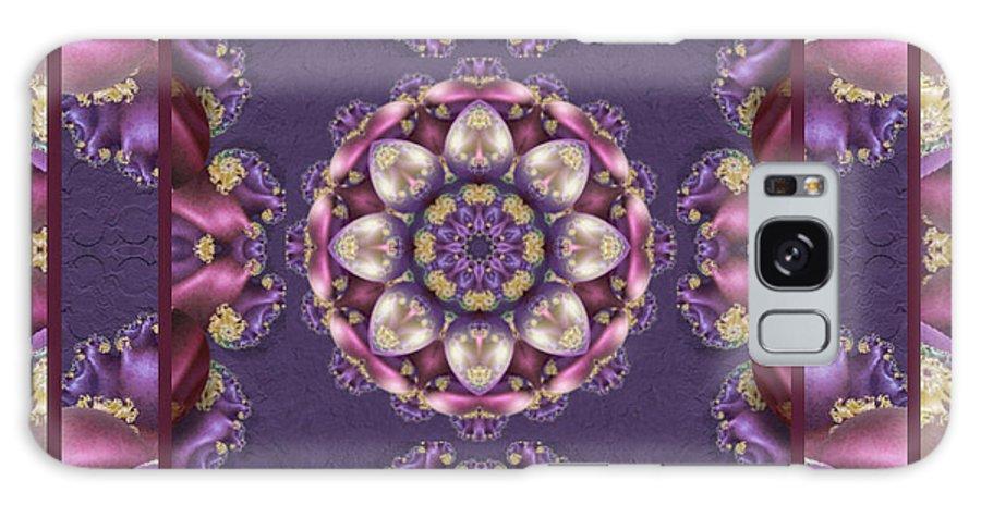 Kaleidoscope Galaxy Case featuring the digital art Easter Eggs by Charmaine Zoe