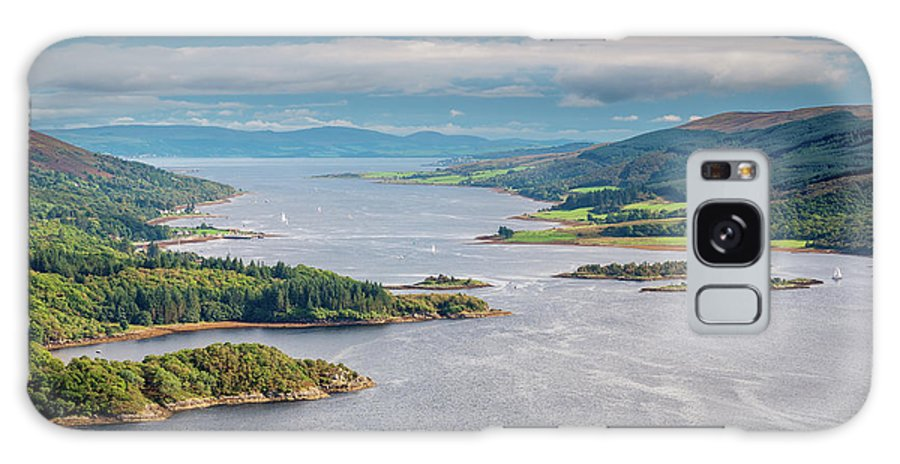 Argyll Galaxy S8 Case featuring the photograph Eastern Kyle Of Bute by David Head