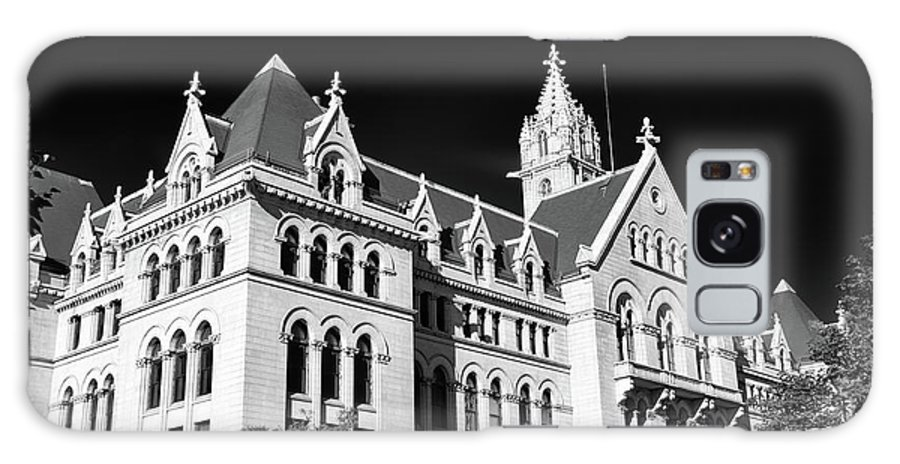 Buffalo Architecrure Galaxy S8 Case featuring the photograph Ecc 0946b by Guy Whiteley