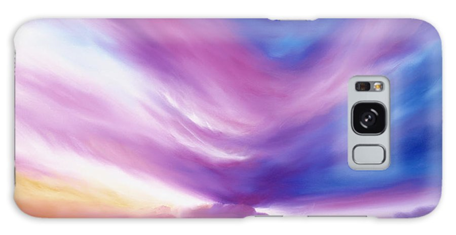 Clouds Galaxy S8 Case featuring the painting Ecstacy by James Christopher Hill