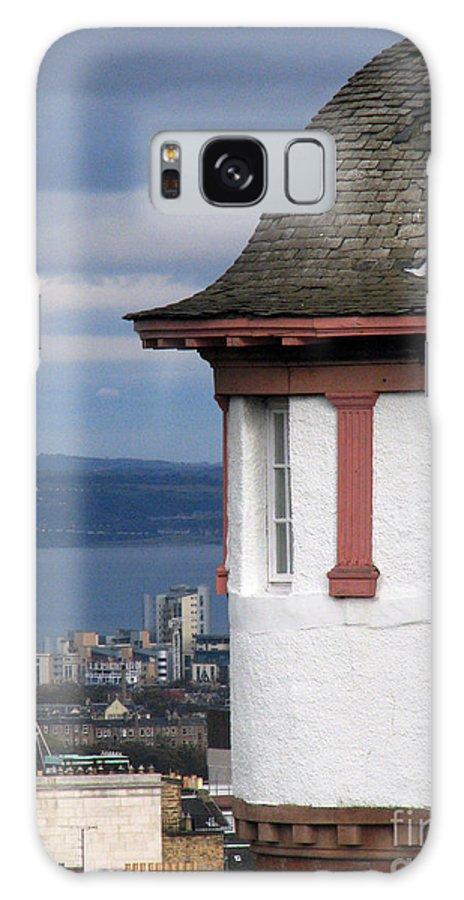 Scotland Galaxy S8 Case featuring the digital art Edinburgh Scotland by Amanda Barcon