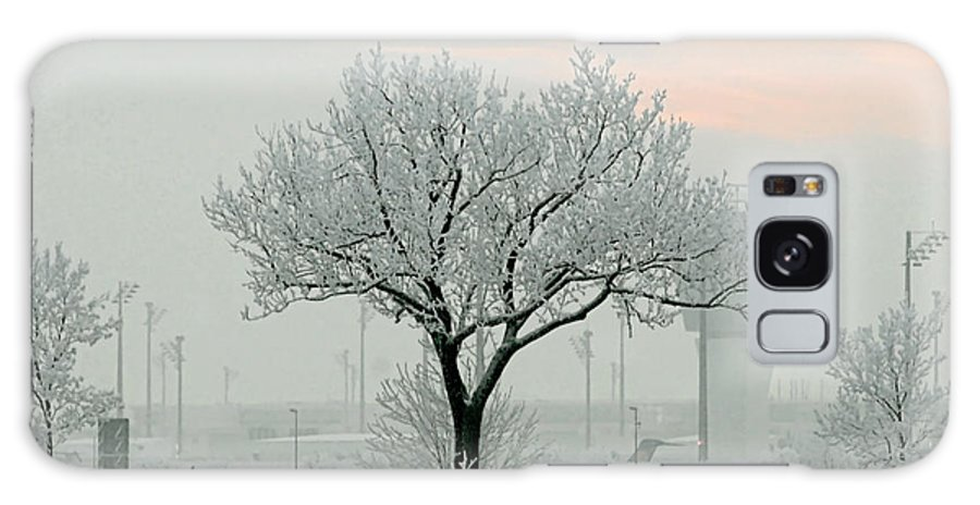 White Galaxy S8 Case featuring the photograph Eerie Days by Christine Till