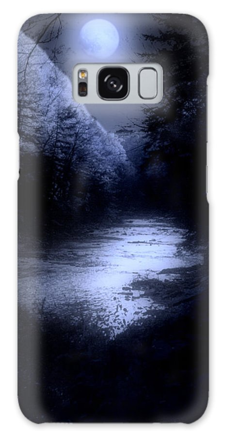 Moon Galaxy S8 Case featuring the photograph Eerie Tranquility by Kenneth Krolikowski