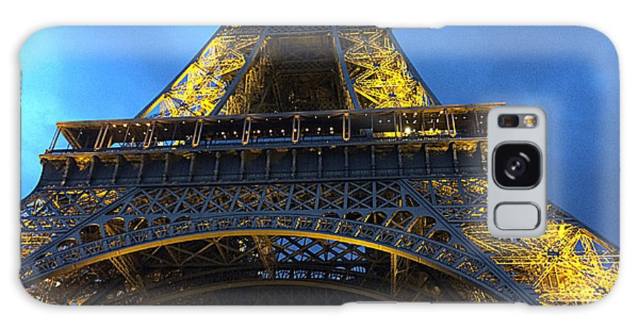 Vicky Adams Photography Galaxy S8 Case featuring the photograph Eiffel Tower At Night. Paris by Vicky Adams