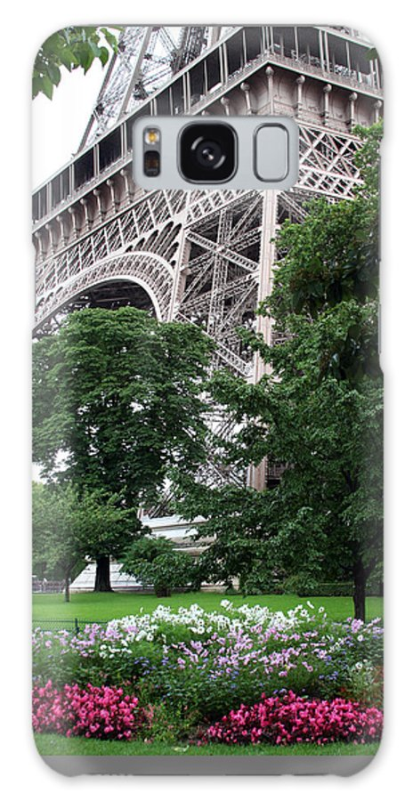 Eiffel Galaxy S8 Case featuring the photograph Eiffel Tower Garden by Margie Wildblood
