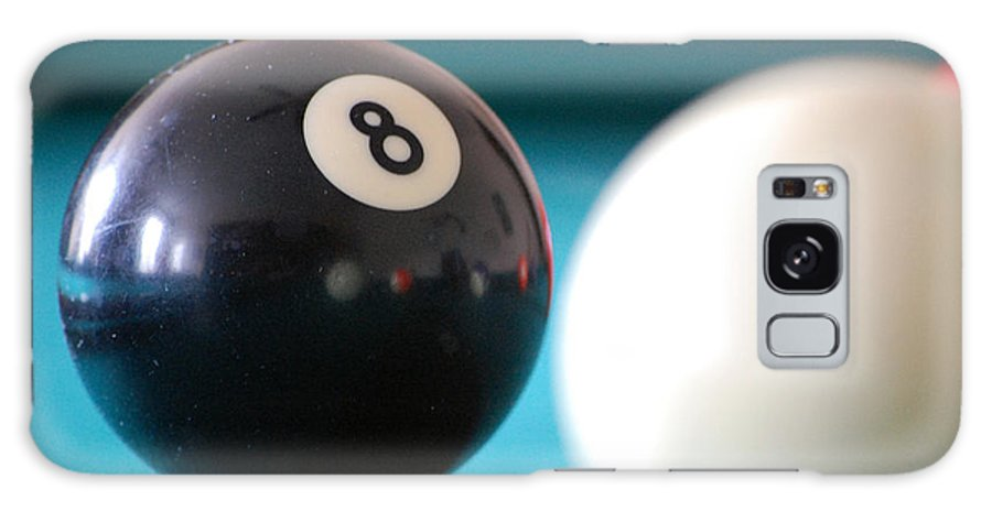 Billiards Galaxy S8 Case featuring the photograph Eightball by Robert Meanor