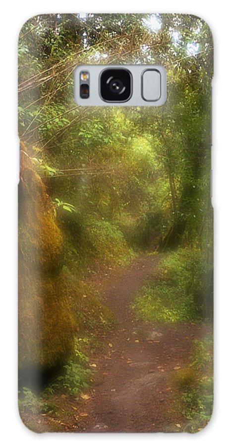 Path Galaxy Case featuring the photograph El Camino by Patrick Klauss