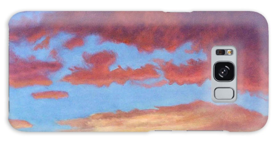 Sunset Galaxy S8 Case featuring the painting El Dorado Sunset by Brian Commerford