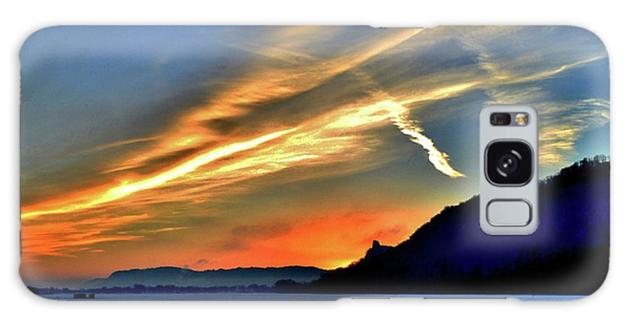 Sunrise Galaxy S8 Case featuring the photograph Electric Sunrise by Susie Loechler