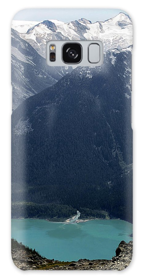 Whistler Galaxy S8 Case featuring the photograph Emerald Cheakamus Lake Whistler Canada by Pierre Leclerc Photography