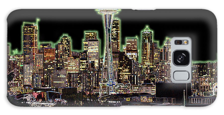 Colorful Galaxy S8 Case featuring the photograph Emerald City by Larry Keahey