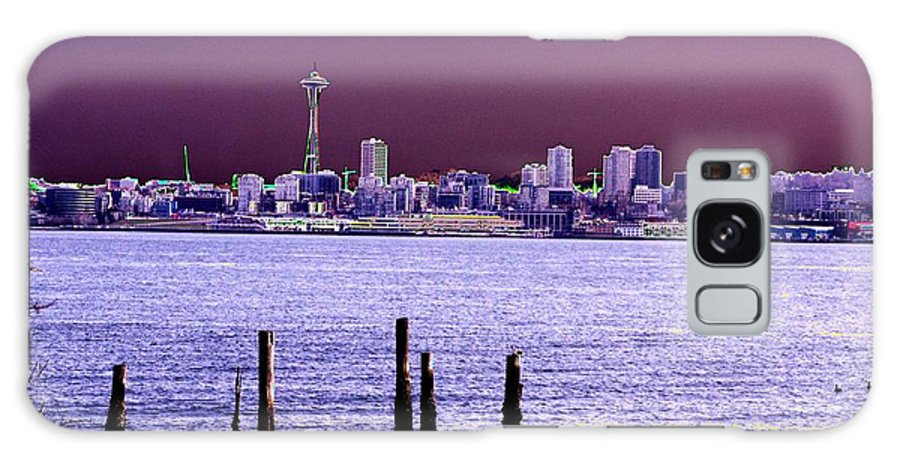 Seattle Galaxy S8 Case featuring the photograph Emerald City Skyline by Tim Allen