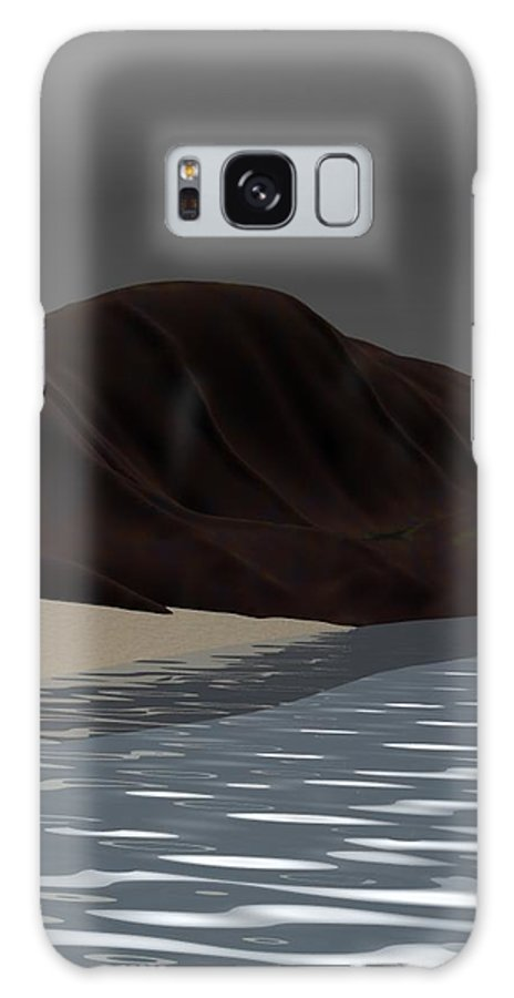 Abstract Galaxy S8 Case featuring the digital art Emotion by David Lane