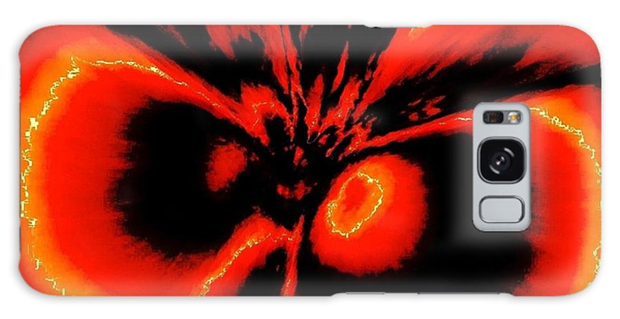 Abstract Galaxy S8 Case featuring the painting Emotional Intimacy by Natalie Holland