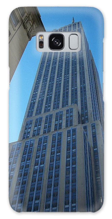 Emoire State Building Galaxy Case featuring the photograph Empire State 2 by Anita Burgermeister