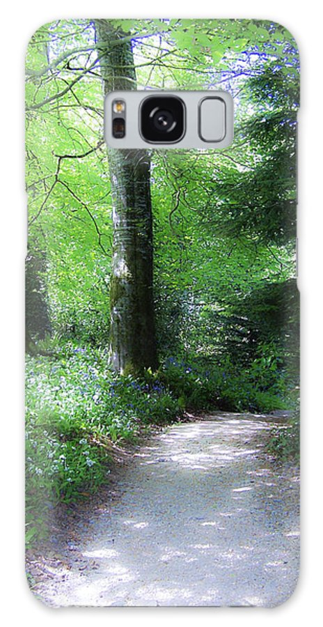 Ireland Galaxy Case featuring the photograph Enchanted Forest At Blarney Castle Ireland by Teresa Mucha