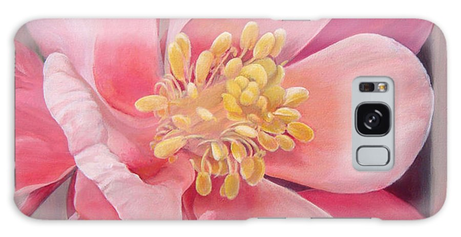 Floral Painting Galaxy Case featuring the painting Encolie by Muriel Dolemieux