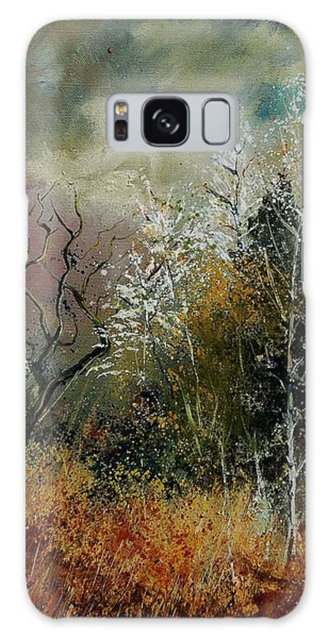 River Galaxy S8 Case featuring the painting End Of Winter by Pol Ledent