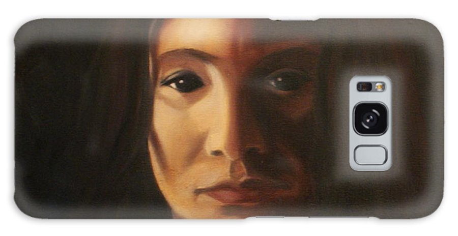 Woman In The Dark Galaxy S8 Case featuring the painting Endure by Toni Berry
