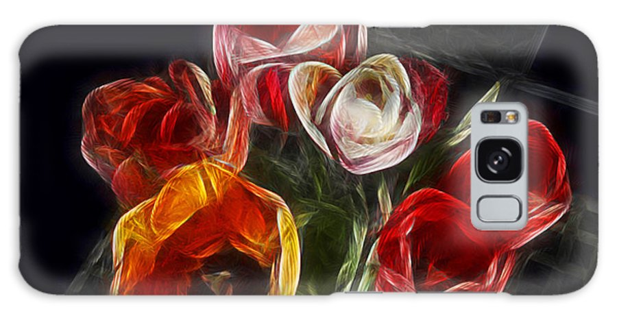Tulip Galaxy S8 Case featuring the photograph Energetic Tulips by Joachim G Pinkawa