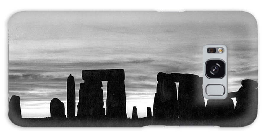 Ancient Galaxy S8 Case featuring the photograph England: Stonehenge by Granger