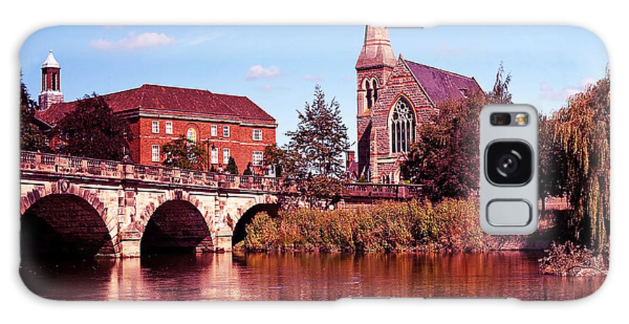 River Galaxy S8 Case featuring the photograph English Bridge Over The Severn At Shrewsbury by Chris Smith