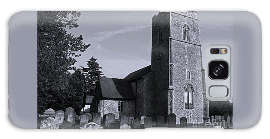 Church Galaxy S8 Case featuring the photograph English Churchyard by Ann Horn