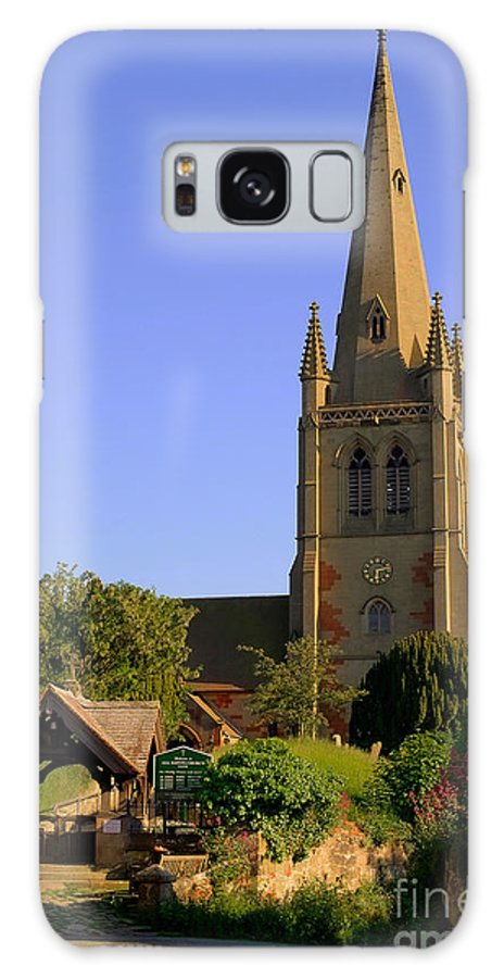 Churches Galaxy S8 Case featuring the photograph English Country Church by Chris Smith