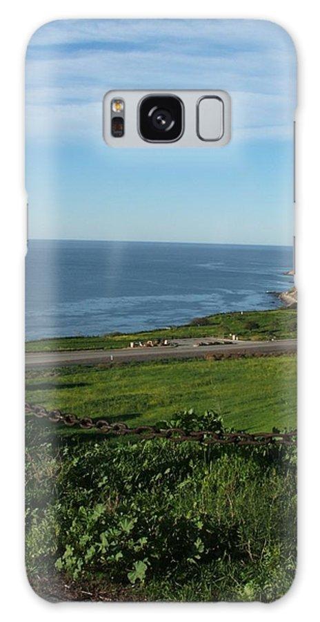 Ocean Galaxy S8 Case featuring the photograph Enjoying The View by Shari Chavira