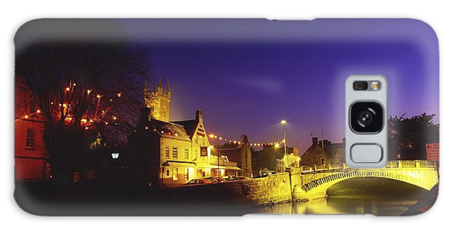 Flat Galaxy S8 Case featuring the photograph Ennis, Co Clare, Ireland Bridge Over by The Irish Image Collection