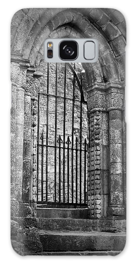 Irish Galaxy Case featuring the photograph Entrance To Cong Abbey Cong Ireland by Teresa Mucha