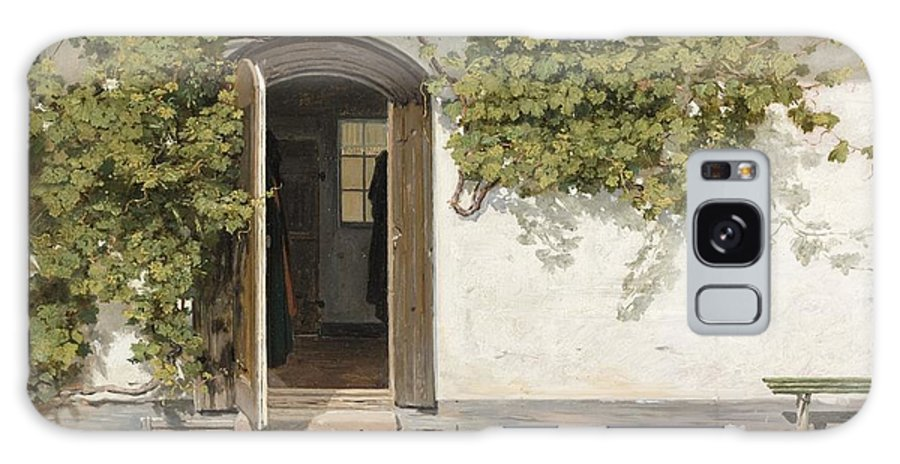 Entrance To The Rectory At Hill Place 1844 Galaxy S8 Case featuring the painting Entrance To The Rectory At Hill Place by Celestial Images