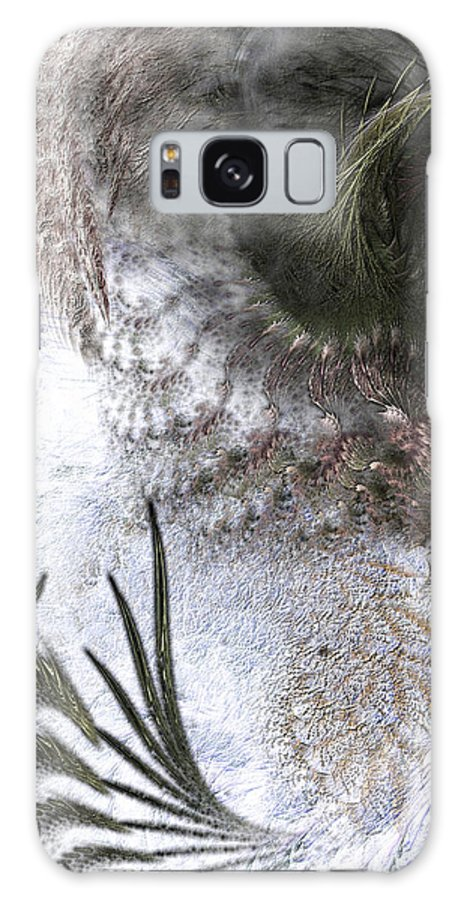 Abstract Galaxy S8 Case featuring the digital art Environmental Transitions by Casey Kotas