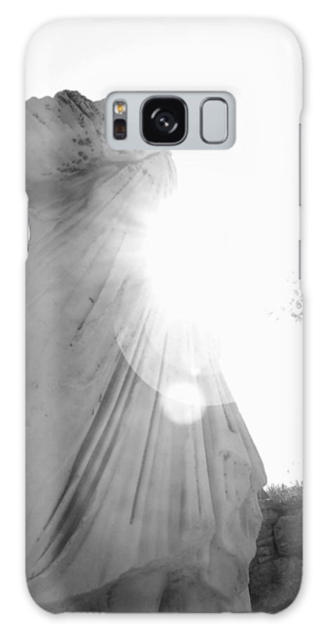 Statue Galaxy S8 Case featuring the photograph Ephesian Statue by Jennifer Kelly