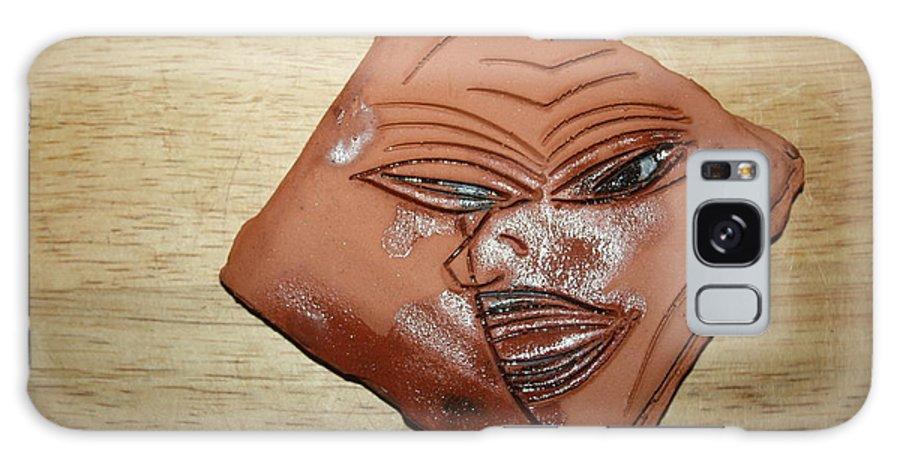 Jesus Galaxy S8 Case featuring the ceramic art Erica- Tile by Gloria Ssali