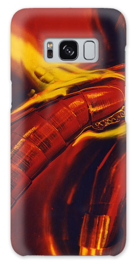 Abstract Galaxy Case featuring the photograph Eritico by David Rivas