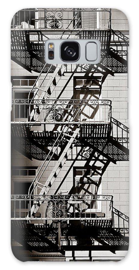 Fire Escape Galaxy S8 Case featuring the photograph Escape by Dave Bowman