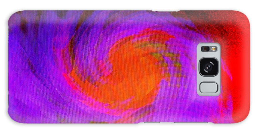 Abstract Galaxy Case featuring the digital art Escape by Ian MacDonald