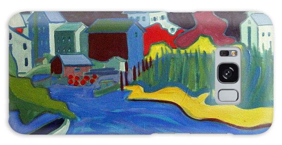Essex River Galaxy Case featuring the painting Essex River by Debra Bretton Robinson