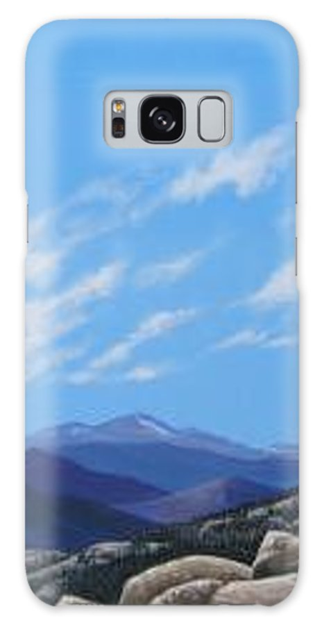 Estes Park Galaxy S8 Case featuring the painting Estes Overlook by Hunter Jay
