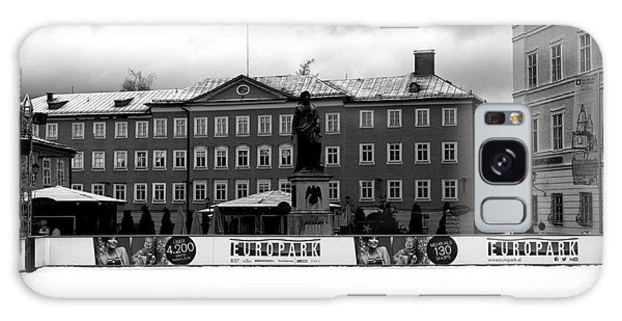 Europark 2014 Galaxy S8 Case featuring the photograph Europark 2014 Mono by John Rizzuto