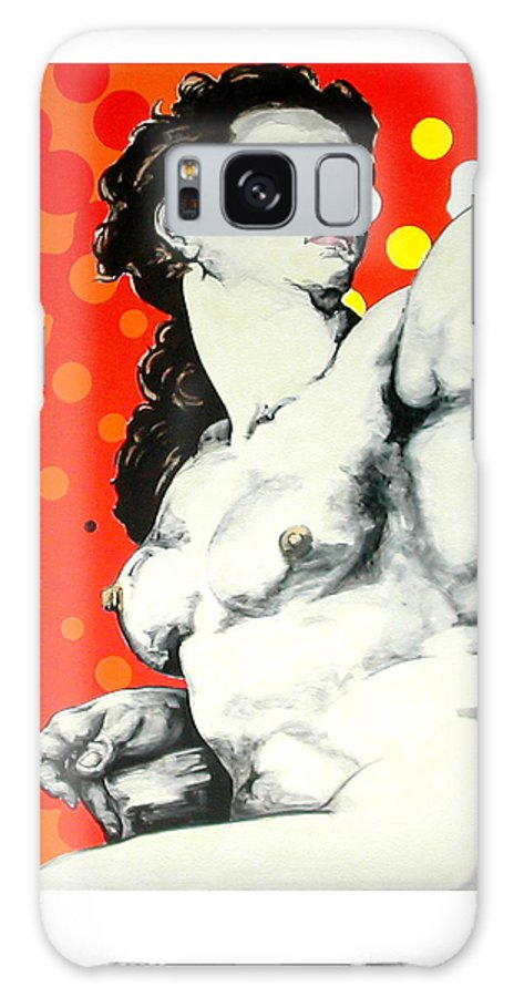 Pop Galaxy Case featuring the painting Eva by Jean Pierre Rousselet