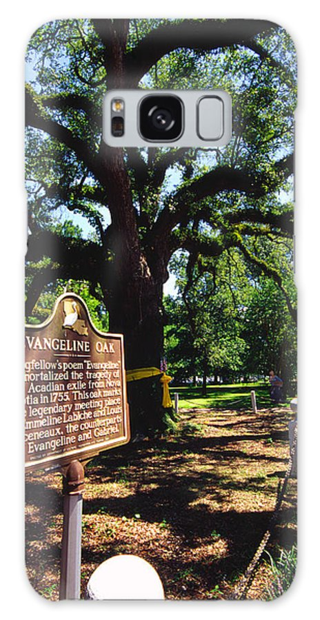 Usa Galaxy S8 Case featuring the photograph Evangeline Oak St Martinville Louisiana by Thomas R Fletcher