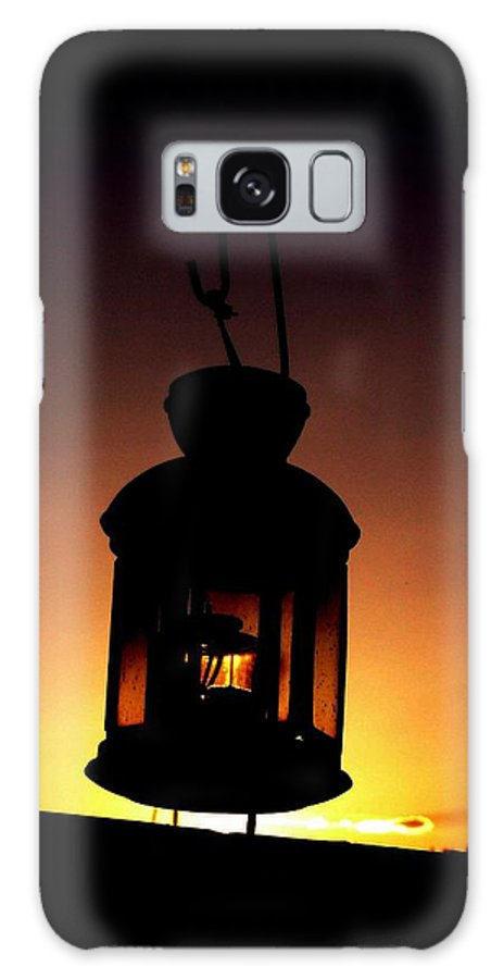 Lantern Galaxy S8 Case featuring the photograph Evening Lantern by Tim Allen