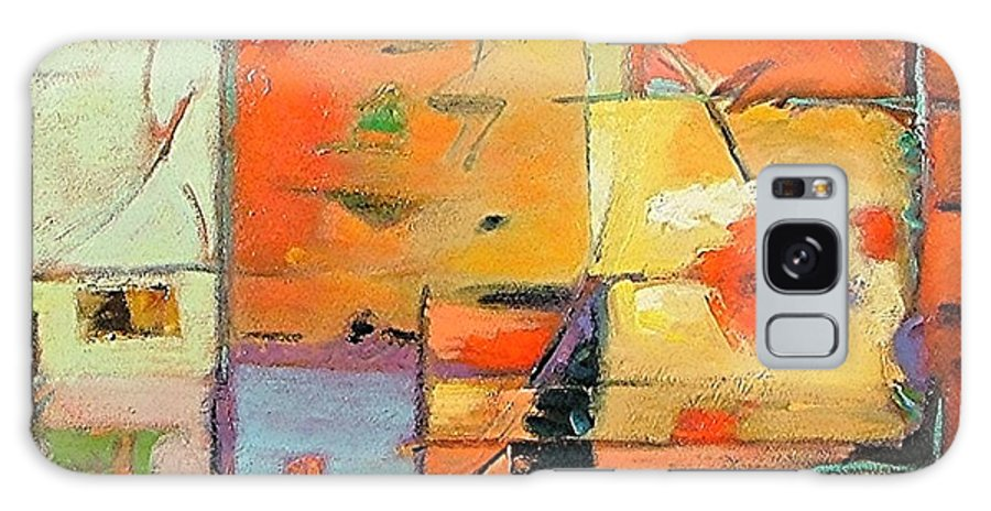 Abstract Painting Galaxy S8 Case featuring the painting Evening Light by Gary Coleman