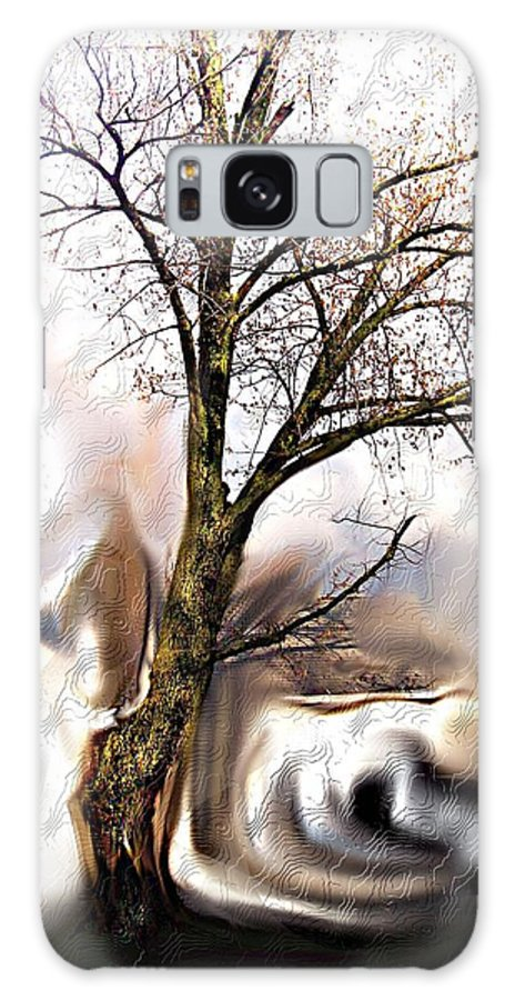 Landscape Galaxy S8 Case featuring the digital art Everlasting by Crystal Webb