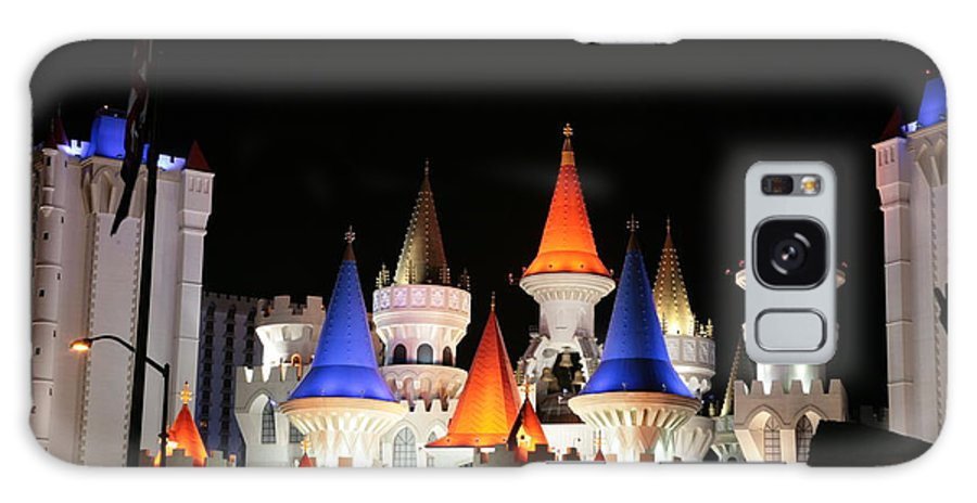 Vegas Galaxy S8 Case featuring the photograph Excalibur by Rich Tanguay