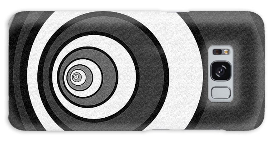 Bold Galaxy S8 Case featuring the digital art Eye Of The Circle by Cherie Scott