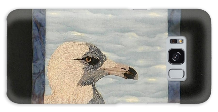 Birds Galaxy S8 Case featuring the tapestry - textile Eye Of The Gull by Jenny Williams